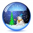 Snowman bals — Stock Vector #13374072