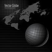 Глобуса и карт — Cтоковый вектор