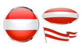 Flag of Austria — Stock Vector