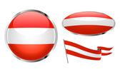 Flag of Austria — Stock Vector