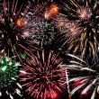 colorful fireworks — Stock Photo #16220085