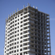 Unfinished multi storey building - Stock Photo