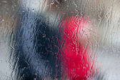 Frozen glass — Stock Photo