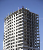 Unfinished multi storey building — Stock Photo