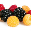 Raspberry, blackberry — Stock Photo