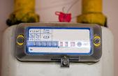 Medidor de gas — Foto de Stock