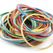 Rubber bands for money — Stock Photo