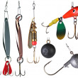 Stock Photo: Fishing baits.