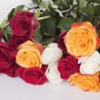 Foto Stock: Bouquet roses