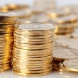Gold coins — Stock Photo #24611719