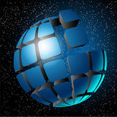 Globe design. — Stock Vector