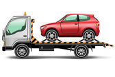 Tow truck — Stock Vector