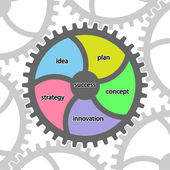 Success. Infographic.  — Vecteur