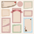 Set of frames — Stock Vector #17360181