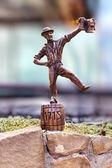Bronze man — Stock Photo