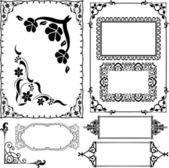 Borders and frames — Stockvektor