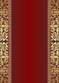 Dark red background — Stock Vector