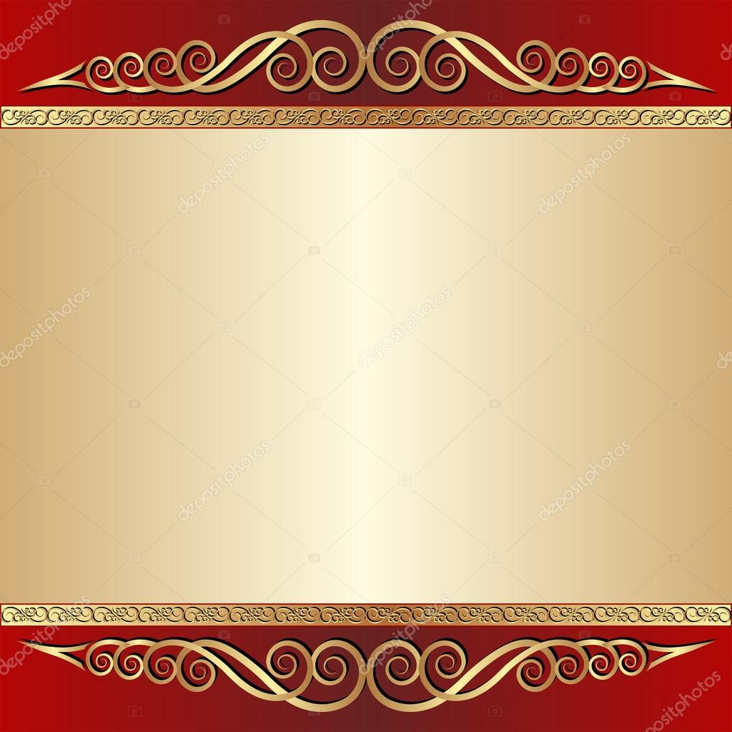 red golden background - photo #48