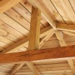Roof structure - Stock Photo