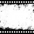 Grunge filmstrip — Stock Vector