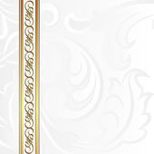 White background — Stock Vector