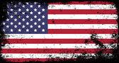 Grunge flag — Stock Vector
