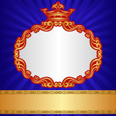 Royal background — Vector de stock