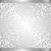 Silver background — Stock Vector