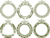 Royal frames — Stock Vector