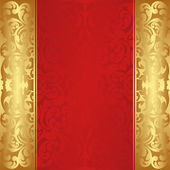 Red background — Vector de stock