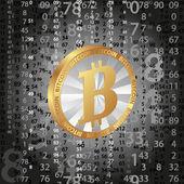 Bitcoin — Vector de stock