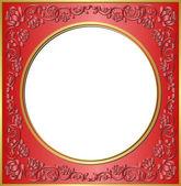 红色框架 — 图库矢量图片