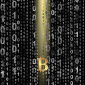 Bitcoin — Stock Vector