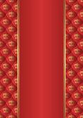Fond rouge — Vecteur