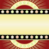 Yellow background — Vector de stock