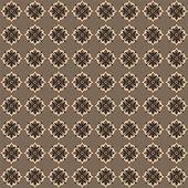 Seamless wallpaper, texture, background — Vector de stock