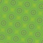 Green ornament — Stock Vector #8871552