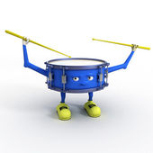 ドラム文字 — ストック写真