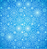 Background of the snow-flakes — Stock Vector