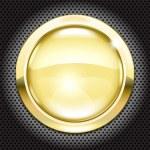 Golden button — Stock Vector #30213839