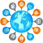 Business Globe — Stock Vector #30545311