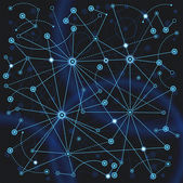 Network Background — Stock Vector