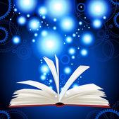 Kouzelná kniha — Stock vektor
