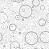 Seamless backgrounds with gears — Stock Vector