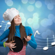 Kitchen symphony conceptual — Stock Photo