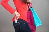 After shopping — Stock Photo
