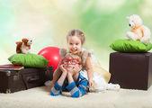 Playing children — Stock Photo