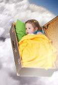 Dreaming girl — Stock Photo
