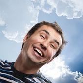 Funny male portrait — Stock Photo