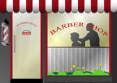Barber Shop — Stock Vector